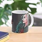 5TheWay Cruella Vil Mug De - - Taza de café de Regalo de Moda Superventas Negra, Blanca, Cambia de Color 11 onzas, 15 onzas para Todos…