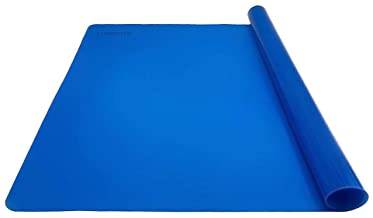 Silicone Baking Mat Multipurpose Nonstick Pastry Mat Heat Resistant Nonskid Table Mat Countertop Protector 16 x 20 Inch (L...