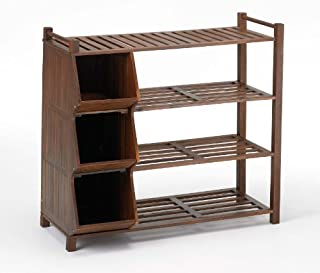 Merry Products 4-Tier Outdoor Shoe Rack and Cubby (B007Z9OIUC) | Amazon price tracker / tracking, Amazon price history charts, Amazon price watches, Amazon price drop alerts