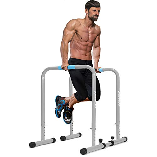 GY613 Multifunctional Dip Stand Station Fitness for Home Split Single Parallel Bars Outdoor Fitness Equipment Support Pull-ups with Safety Connector