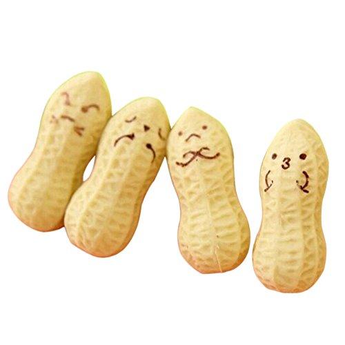 4 gomas de borrar Kawaii Peanut de goma, para dibujos...