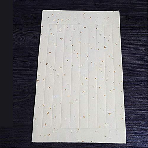 WerkstüCk Aus Hochwertigem WeißEm Vanille-Waffel-Papier (Reispapier), HandgeschöPftes Chinesisches Japanpapier 28 * 18 Cm