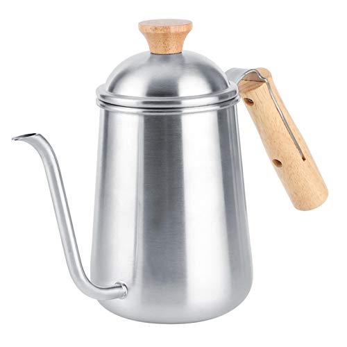 Tetera clásica, cafetera profesional de acero inoxidable, tetera de agua, tetera para uso en la cafetería de la oficina en casa
