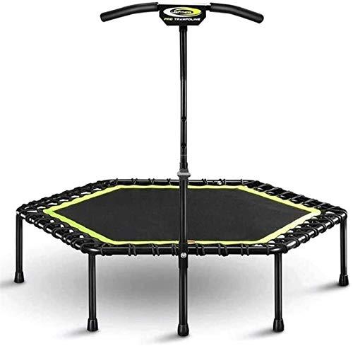 BRFDC Trampolin Fitness Deportes trampolín con la manija Estable Bar y un Cable de suspensión for una máxima Seguridad