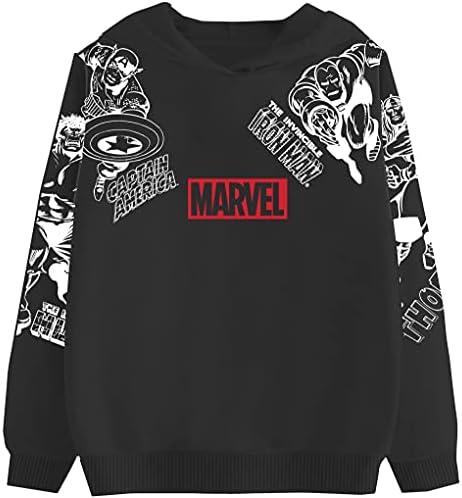 Marvel Super Heroes Hero Boy's Zip up Fashion Hoodie Sweatshirt for Kid's