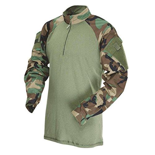 Tru-Spec Men's Regular T.R.U. 1/4 Zip Combat Shirt,...