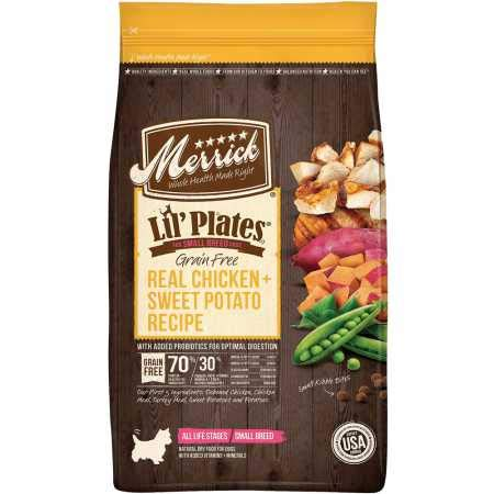 Merrick Lil Plates Grain Free Small Breed Recipe, 12-Pound, Chicken