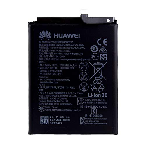 Huawei Original Akku für Huawei P20 Pro DUAL (CLT-L29), Handy/Smartphone Li-Pol Batterie