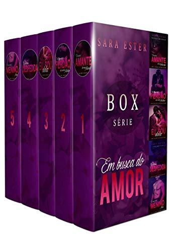 BOX COMPLETO DA SÉRIE EM BUSCA DO AMOR (5 LIVROS REUNIDOS) (Portuguese Edition)