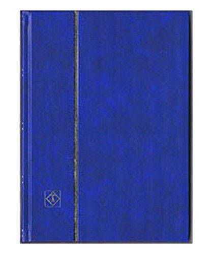 ライトハウス社 切手ストックブック/黒台紙 A4判-9段/32ページ(16枚) 表紙色-青