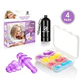 Best Ear Plugs For Small Ear Canals - Hearprotek Noise Reduction Ear Plugs for Sleeping, 4 Review