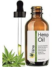 Hampfröolja (cannabis sativa fröolja) Knäsmuskler Gemensam smärtlindrande massage Olja kallpressad olja 100 ml