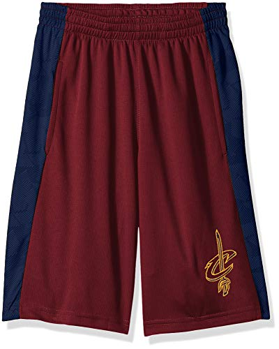 Outerstuff NBA Cleveland Cavaliers Jungen Shooter Sublimated Mesh-Short, Teamfarbe, Jugendliche-XL (16-18)