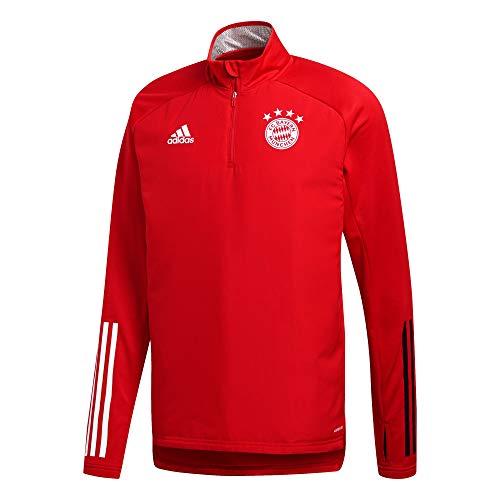 adidas 20/21 FC Bayern Warm Top Parte Superior, Hombre, Color: Negro, Extra-Small