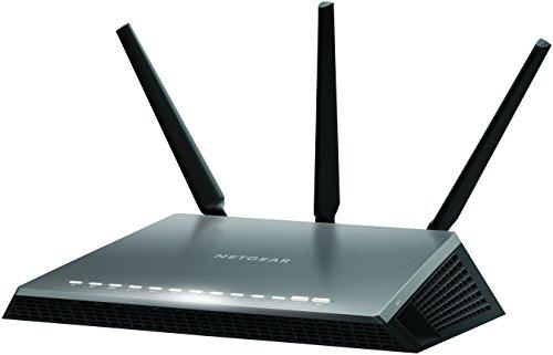 NETGEAR D7000 Nighthawk AC1900 Dual Band 300+1600 Mbps Wireless (WiFi) VDSL/ADSL Modem Router