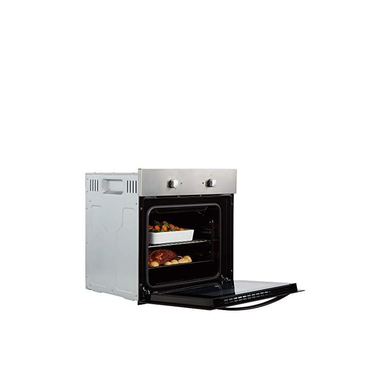 Cookology SFO57SS 60cm Built-in Single Electric Fan Oven in Stainless Steel
