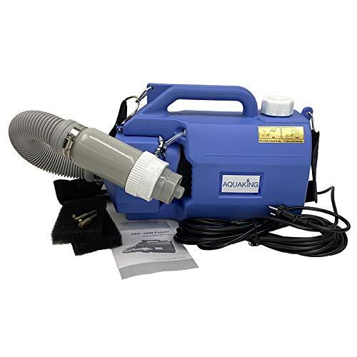 Aquaking - Pulverizador de niebla eléctrico ULV portátil, pulverizador de niebla y máquina de niebla de 220 V para esterilización pública de desinfección