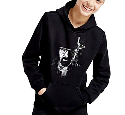 Sudadera de NIÑOS Breaking Bad Heisenberg Walter Jesse Pinkman 004 12-13 años