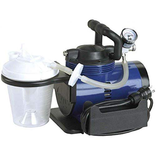 Home Use Suction Mucus Compressor suction canister, 6 suction tube, 10 suction canister tubing, hydrophobic filter, plastic elbow connector