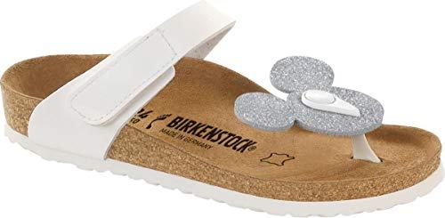 BIRKENSTOCK Sandale Zehentrenner Tofino Minnie Zebra 103433, Größe + Weite:32 schmal, Farben:Minnie Zebra
