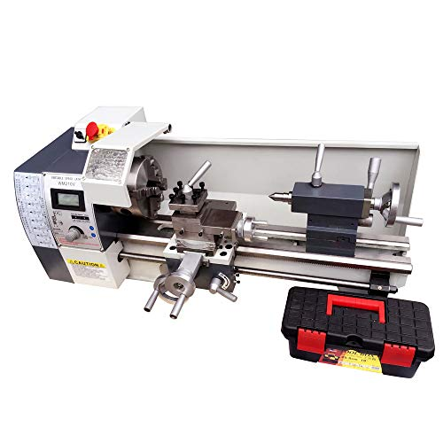 Learn More About TECHTONGDA Variable-Speed Milling Bench Lathe High-Precision DIY Brushless Motor La...