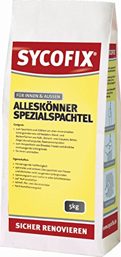 SYCOFIX Alleskönner - Spezialspachtel - 5kg - Sack