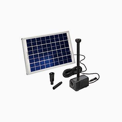 Esotec SHS Solar-Teichpumpensystem mit Akku, Größe 2
