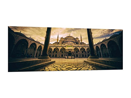 Glasbilder Wandbilder 125 x 50cm Türkei Istanbul AG312502338 / Deco Glass, Design & Handmade/Eyecatcher, Kunstdruck!