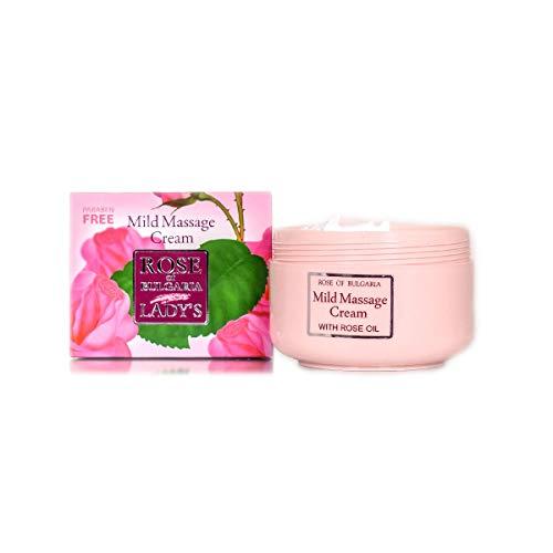 BioFresh Crème de massage avec roses eau rose of Bulgaria–330mL