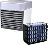 Blast Portable AC Ultra [+ 1 Filter] Blast Portable Air Conditioner, 2021 USB Water-Cooled Air Cooler, Personal AC Fan for Carbon Neutrality, Home, Bedroom, Desktop, Office, Camping (White)