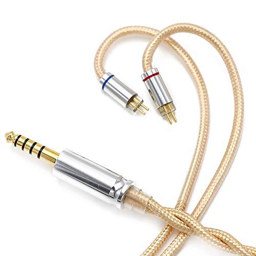 Linsoul LSC08 6N OCC Single Crystal Copper HiFi Earphone Cable for AK100, AK120, AK240, DP-X1, DP-X1A, FIIO X5III, XDP-300R, KANN, BQEYZ Spring1 (2.5mm, 2pin 0.78)