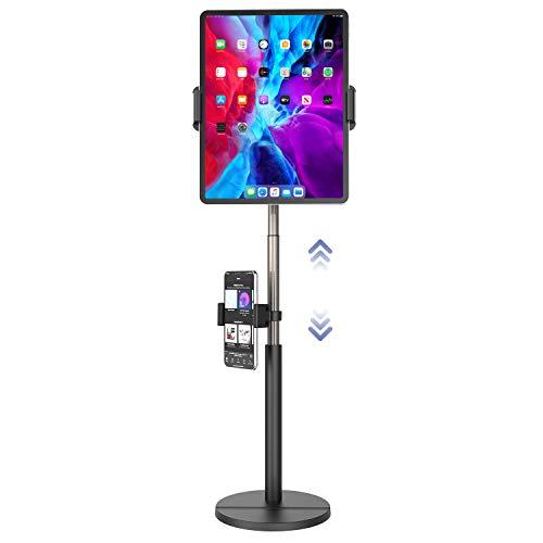 Soporte ajustable para iPad Pro 12.9, iPad Air 10.5 Mini 4 3 2, Galaxy Tab A 10.1, Nintendo Switch, Nintendo Switch, rotación de 360 grados