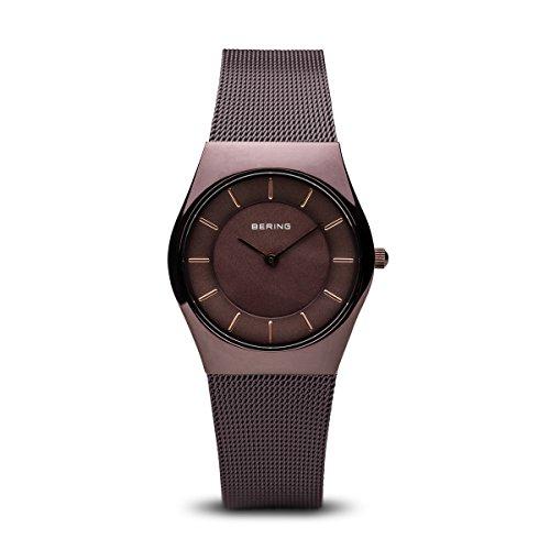 BERING Damen-Armbanduhr Analog Quarz Edelstahl 11930-105