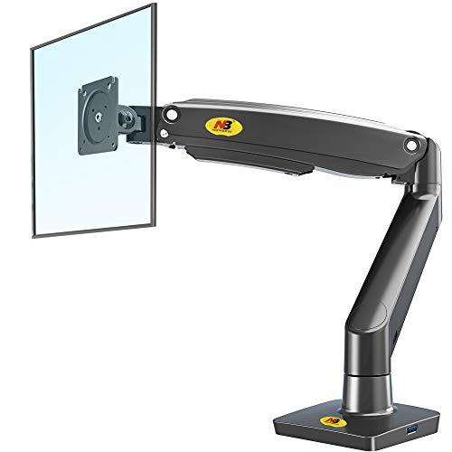 NB North Bayou Monitor Halterung Tischhalterung Gasdruckfeder Arm höhenverstellbar Bildschirmhalterung für 22