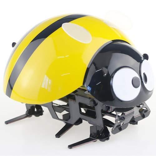 HaiMa D02 2.4Hz Wireless Ladybug Touch Giocattolo Di Controllo Remoto - Giallo