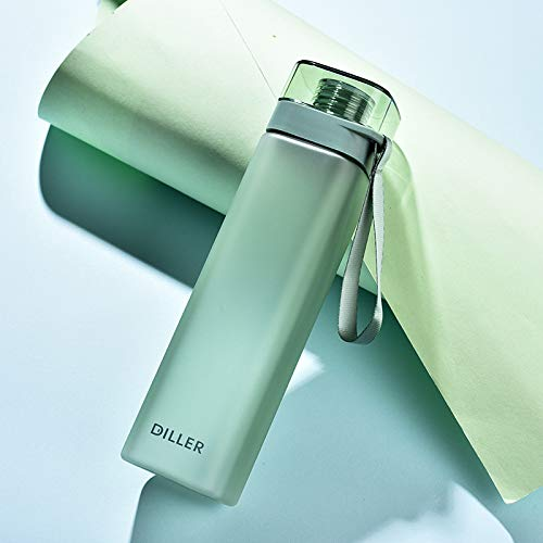 YOUSHANG Bottiglia Acqua, Borraccia Palestra, Bici, Palestra, Chilly Bottle, Termica, 400ML