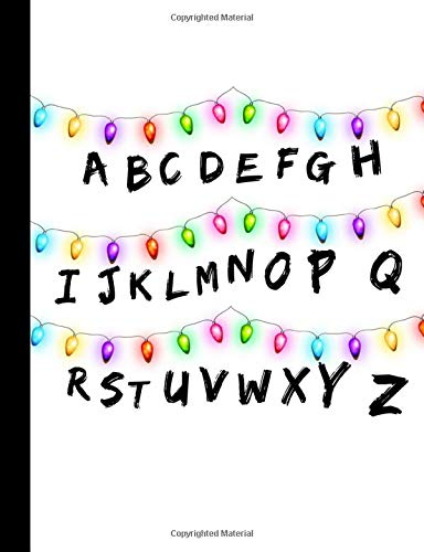 ABC: Stranger Things Inspired Christmas Lights Message Colle