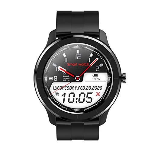 Hnxmkj Pulsera inteligente multideporte modo personalizado Dial monitoreo del sueño deportes podómetro reloj
