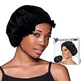 O³ Bonnet de Douche Impermeable Grande Talle-Lot de 2 Charlotte Cheveux-Douche et...