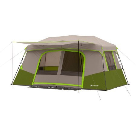Ozark Trail 11-Person Instant Cabin with Private Room (Green)