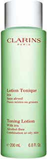 Clarins Toning Lotion with Iris - Oily to Combination Skin, 198 ml