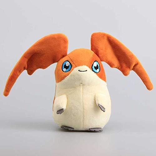 xuritaotao Hochwertige Digimon Adventure Patamon Plüschtier Nette Kuscheltiere Kinder Weiche Puppen 18 cm