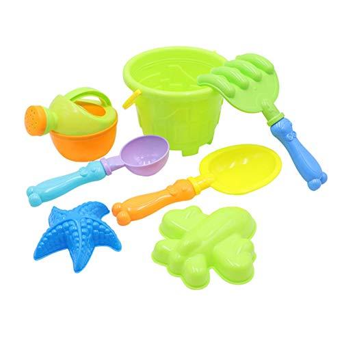 Juego de juguetes de playa para niños, juego de 9 piezas para niños