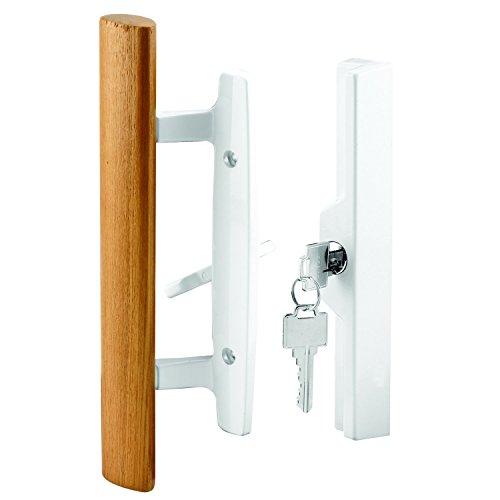 sliding patio door lock with key - 1