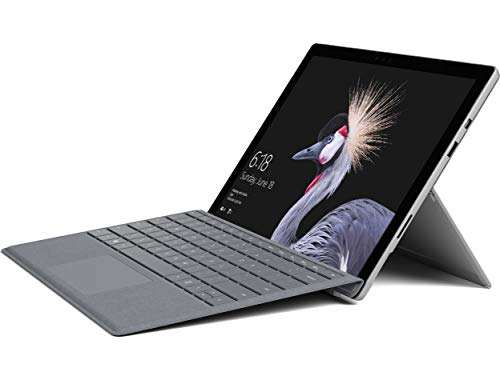 Microsoft Ljj-00001 Surface Pro (5th Gen) (Intel Core M3, 4GB, 128GB SSD) with Surface Signature Type Cover Platinum