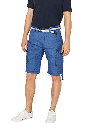 edc by ESPRIT Herren 059Cc2C005 Shorts, Blau (Blue 430), W32 (Herstellergröße: 32)
