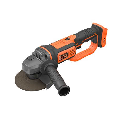 BLACK+DECKER BCG720N-XJ - Amoladora 18V Litio, incluye disco de 125mm