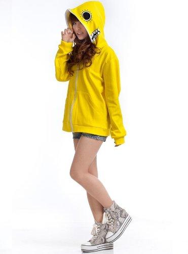 Hatsune Miku Gumi Matryoshka Doll Cosplay hoodie, gelb, Größe XL:(Höhe 168-172cm,Gewicht 60-70kg)