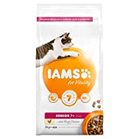 Adult and senior cat food with 88% of animal protein to support 7 signs of healthy vitality With added glucosamine to support healthy joints Antioxidant blend with Vitamin E to help support the immune system of your pet Item package weight: 2.02 kilo...
