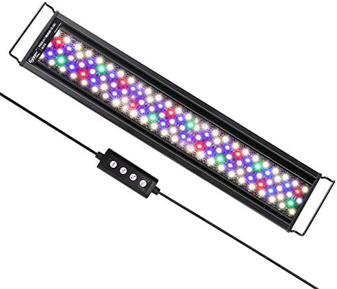 hygger Advanced Multi Color Full Spectrum LED Aquarium Light with 24 7 Lighting Cycle Custom product image